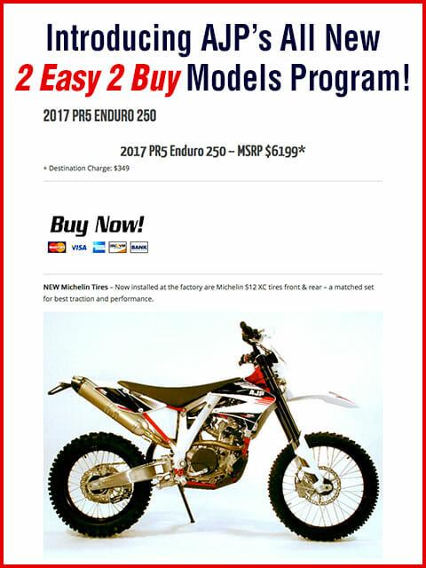 AJP Motorcycles - 2Easy 2Buy