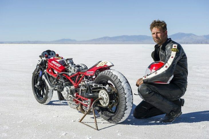Mark Bjorklund - 200 MPH Club - Ducati Double-Duck