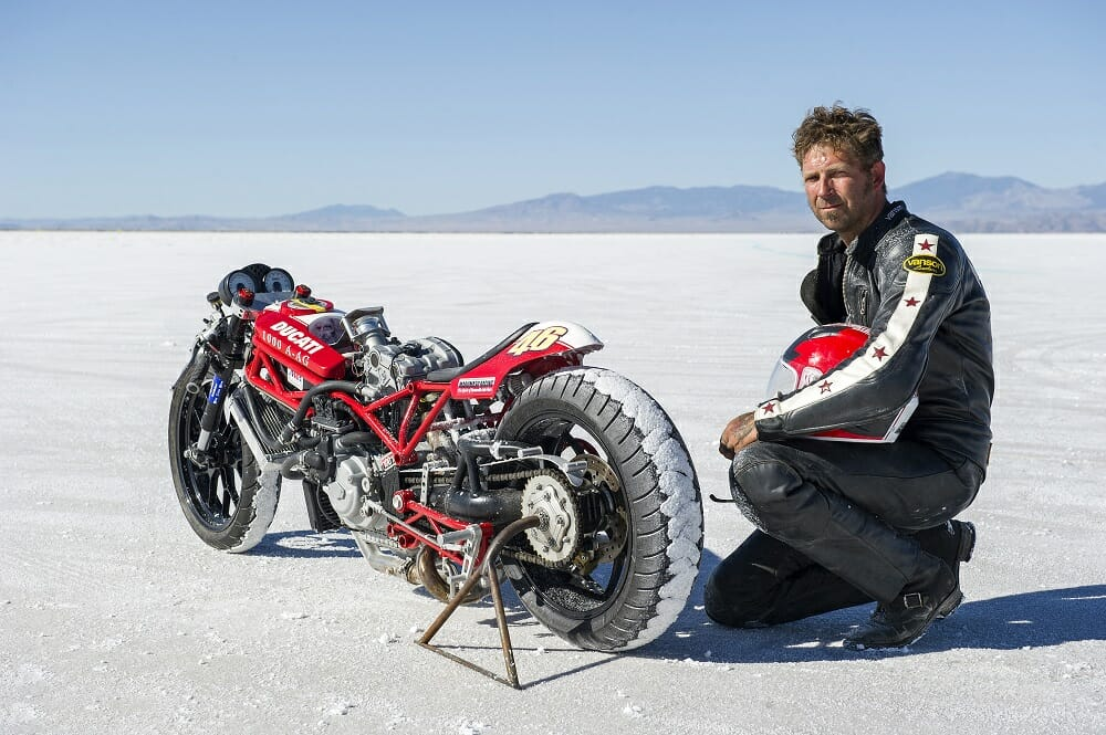 Mark Bjorklund - 200 MPH Club - Ducati Double-Duck