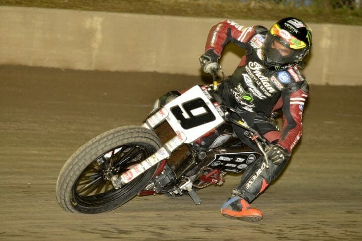 Jared Mees won at the Rolling Wheels Half-Mile
