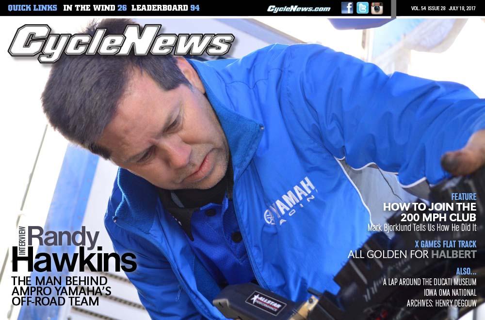 Cycle News Magazine #28: Randy Hawkins Interview, X Games Flat Track...