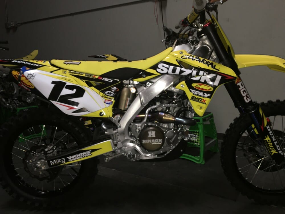 Chaparral Motorsports/Bar X Motorsports/Suzuki Amateur MX Team Heads