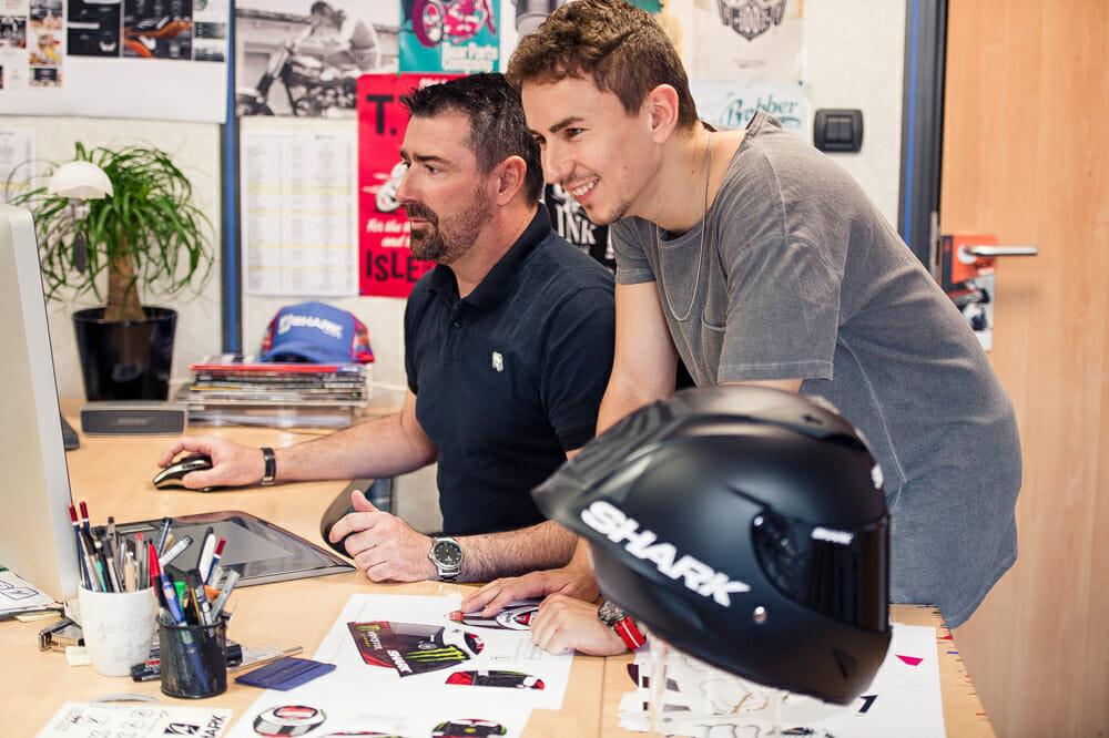 Shark's MotoGP Race-R PRO Profile with Jorge Lorenzo