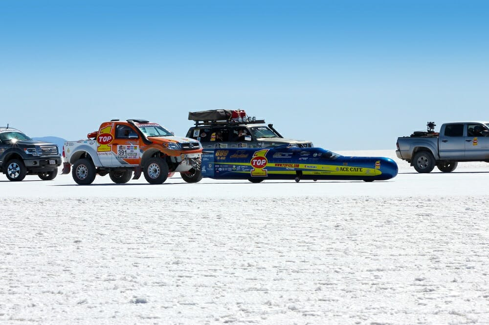 Top Of The World Land Speed Trial - Bolivia