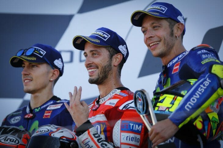 2018 British Grand Prix Silverstone MotoGP Results