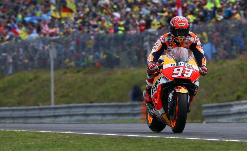 Marc Marquez won the 2017 MotoGP race at Brno