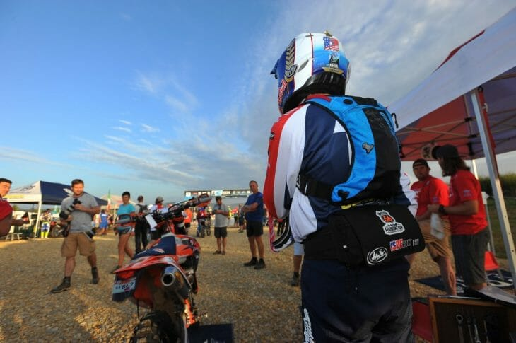 2017 France ISDE Day One Results