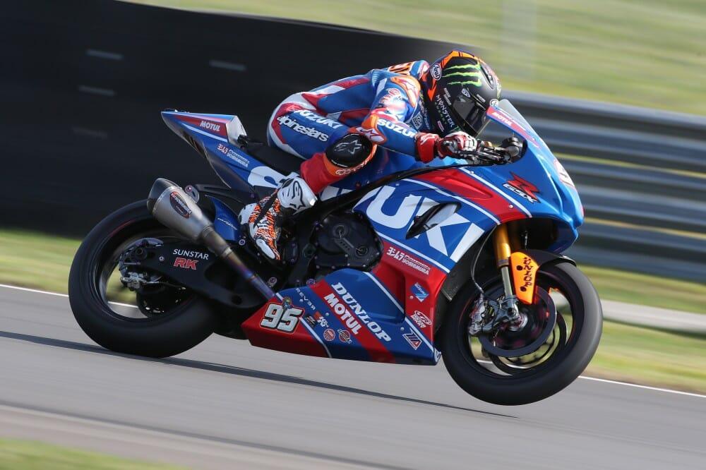 Hayden Wins MotoAmerica Superbike Race 2 In Pittsburgh On Yoshimura