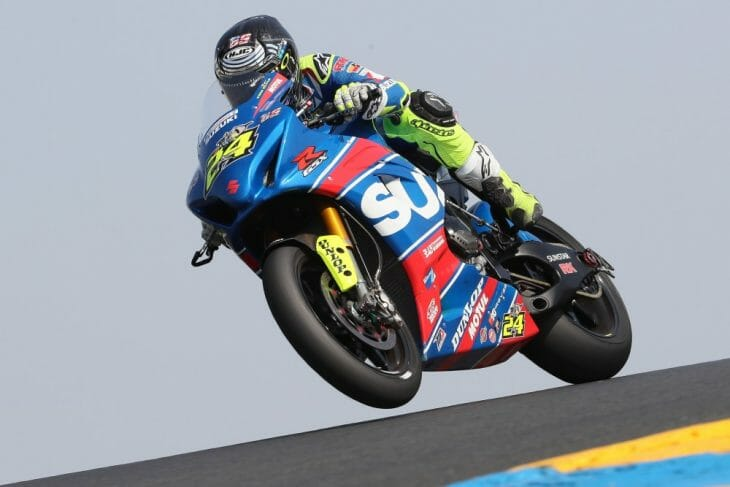 Yoshimura Suzuki's Toni Elias extended his series lead after scoring a pair of second-place finishes in MotoAmerica Superbike's return to Sonoma Raceway. (Photo by Brian J. Nelson)