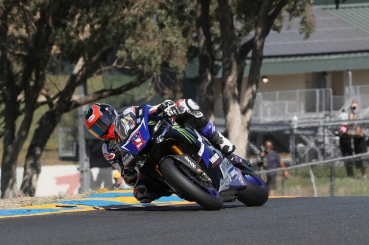 Beaubier did the double - his first of the season - in the Superbike series' return to Sonoma | Photo: Brian J. Nelson
