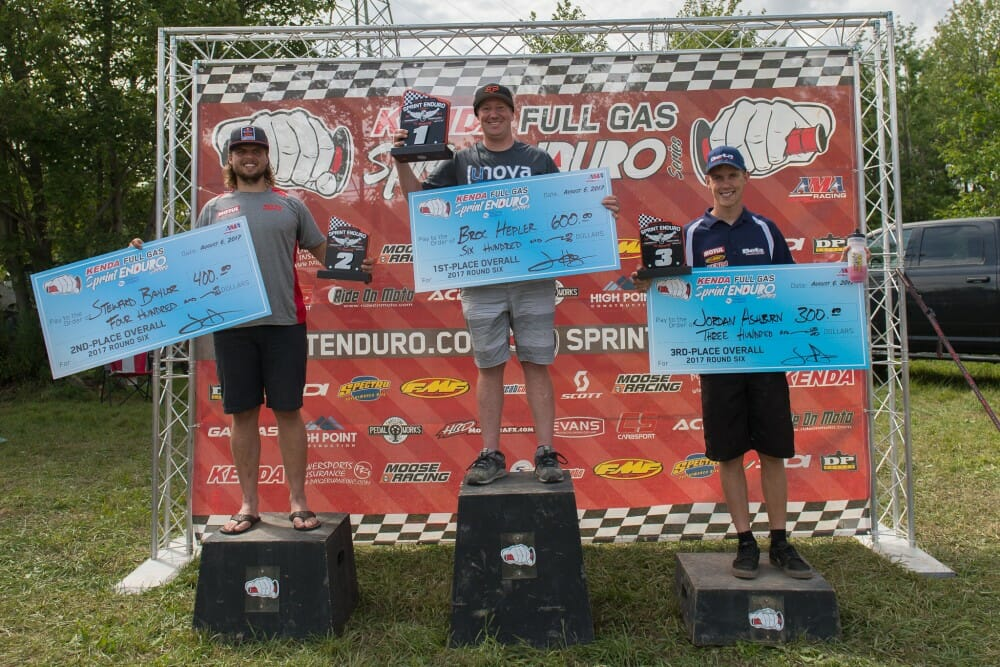 2017 Kenda Full Gas Sprint Enduro Pennsylvania Results