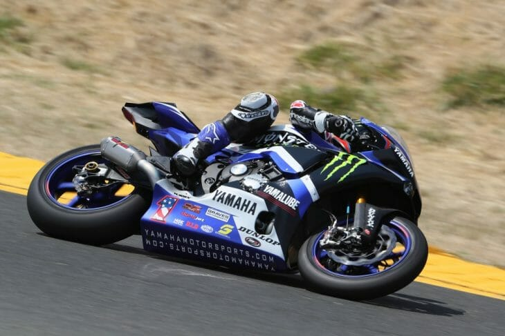 For the first time in five years, superbike racing is back in Sonoma and Beaubier led the way with the fastest time in Motul Superbike   Photo: Brian J. Nelson