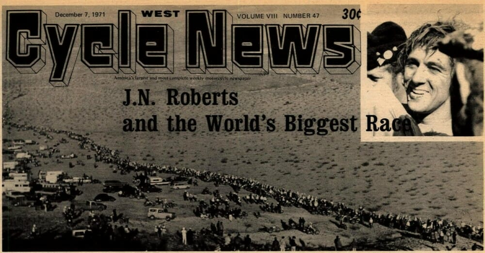 JN Roberts the Leading Desert Racer of his Era