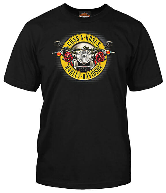 Harley-Davidson Announces Guns N' Roses Co-Branded Capsule Collection