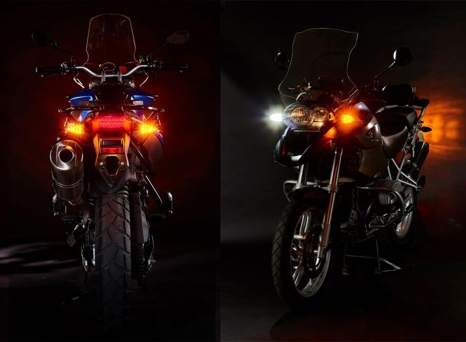 Weiser LED Light Upgrades for BMW Bikes