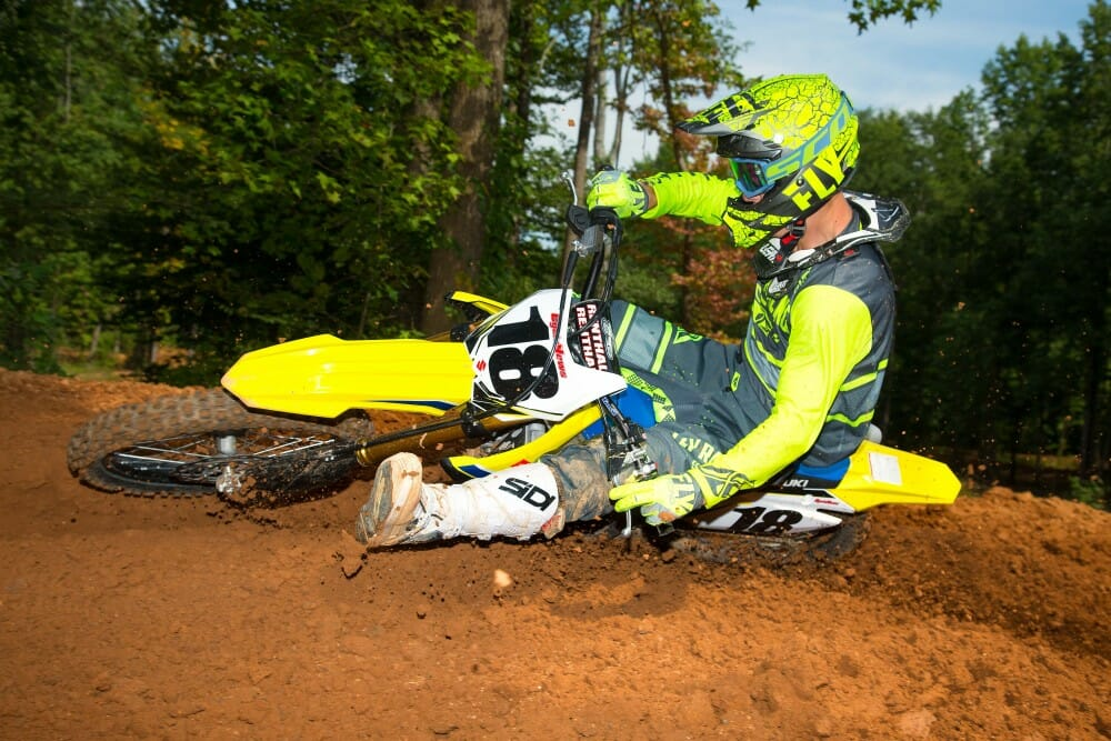 2018 suzuki motocross. interesting suzuki 2018 suzuki rmz450 first test for suzuki motocross
