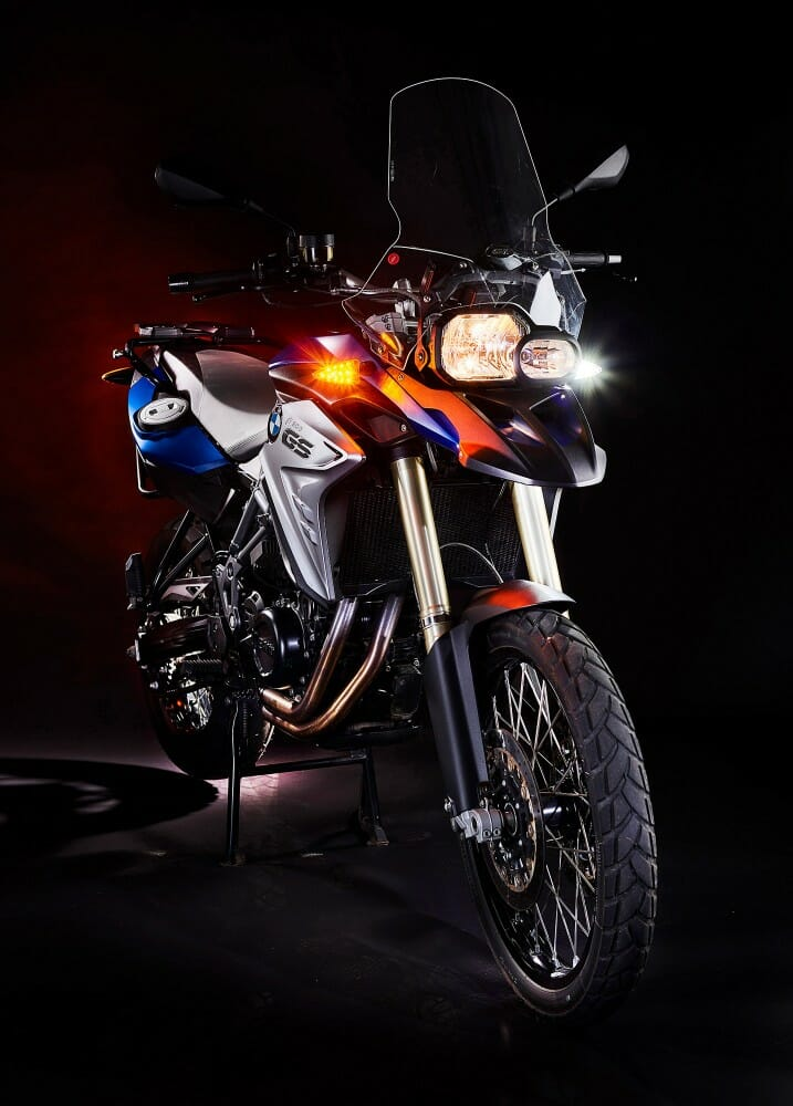 Weiser LED Light Upgrades for BMW Bikes
