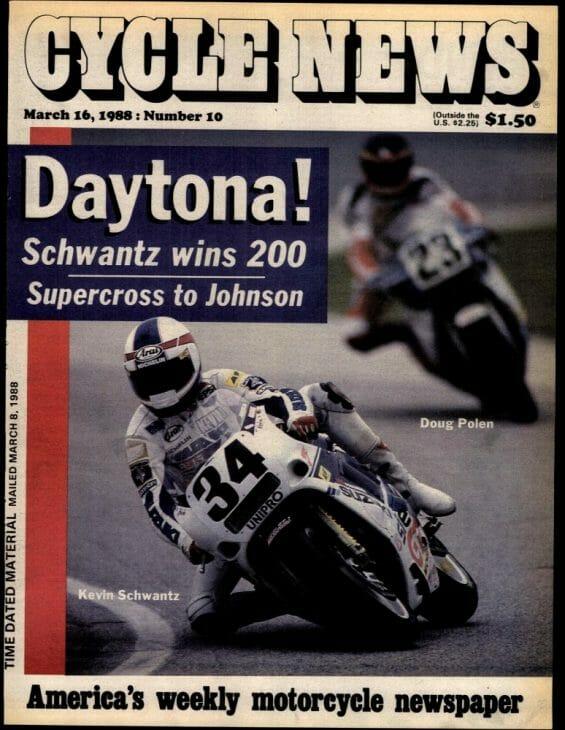 Schwantz 1988 Daytona CN cover