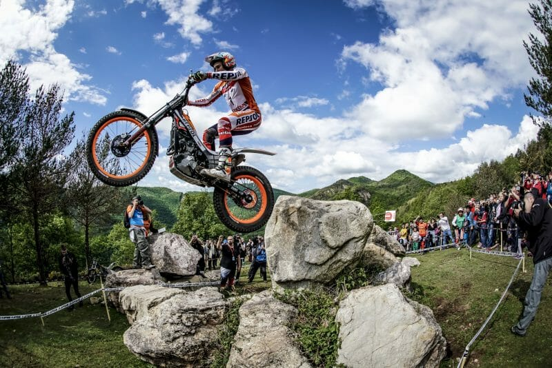 HRC Toni Bou crowned 2017 FIM TrialGP World Champion