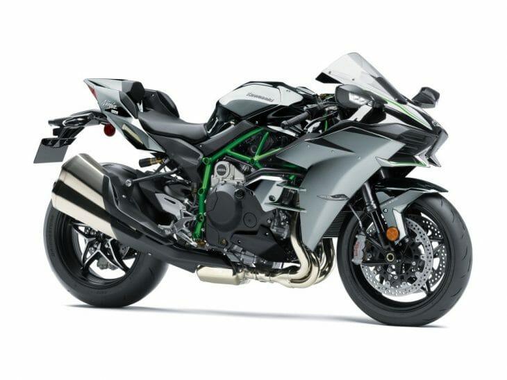 2018 Kawasaki Ninja H2R, H2 Carbon, H2 First Look