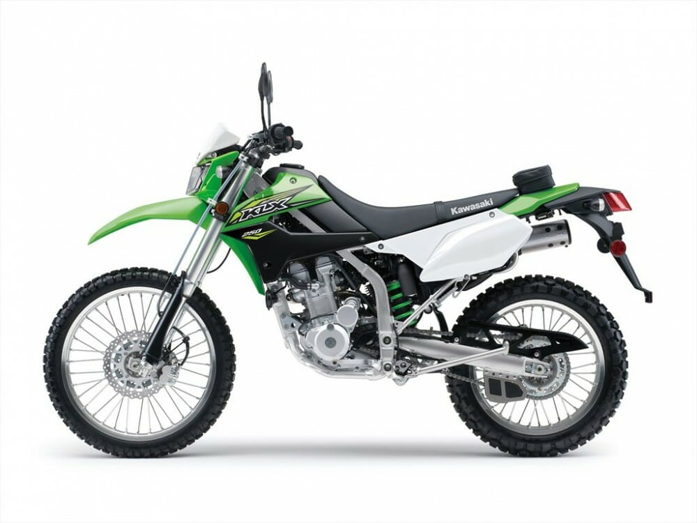 2018 kawasaki klx250 efi first look cycle news. Black Bedroom Furniture Sets. Home Design Ideas
