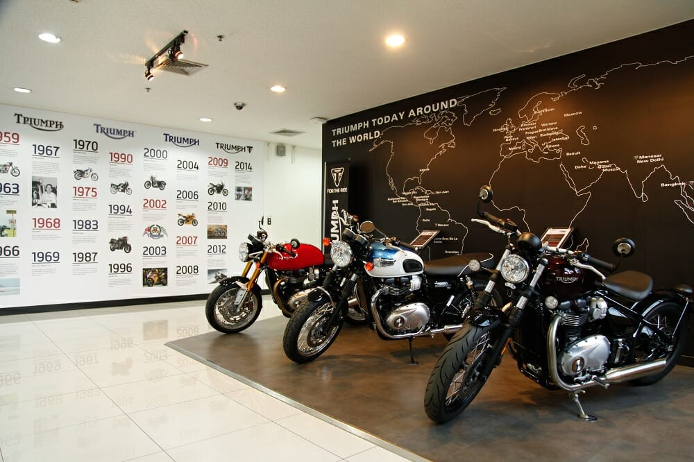 Triumph Thailand Factory Visit by Alan Cathcart