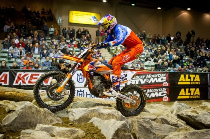 2017 EnduroCross Results From Reno