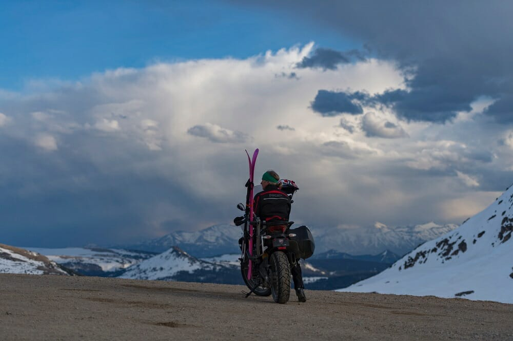 "Ducati North America Partners With Warren Miller Entertainment for 2017 Winter Adventure Film ""Line of Descent"""
