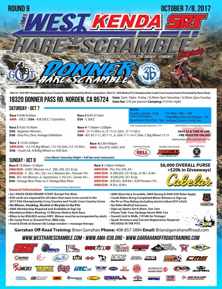 West Hare Scramble Championship Series