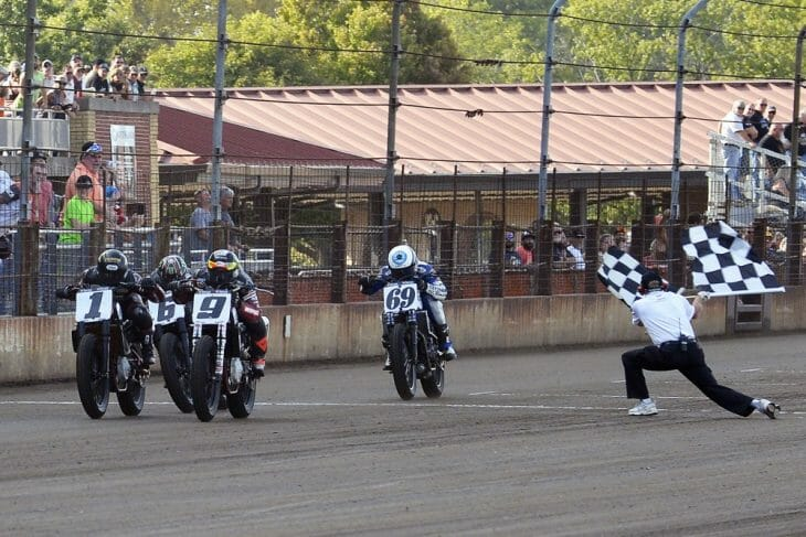 2017 American Flat Track Springfield Mile 2 Results