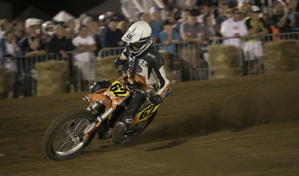 2017 American Flat Track Springfield Short Track Results