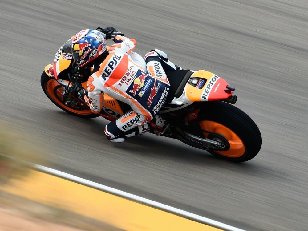 MotoGP Motorland Aragon FP2 Update