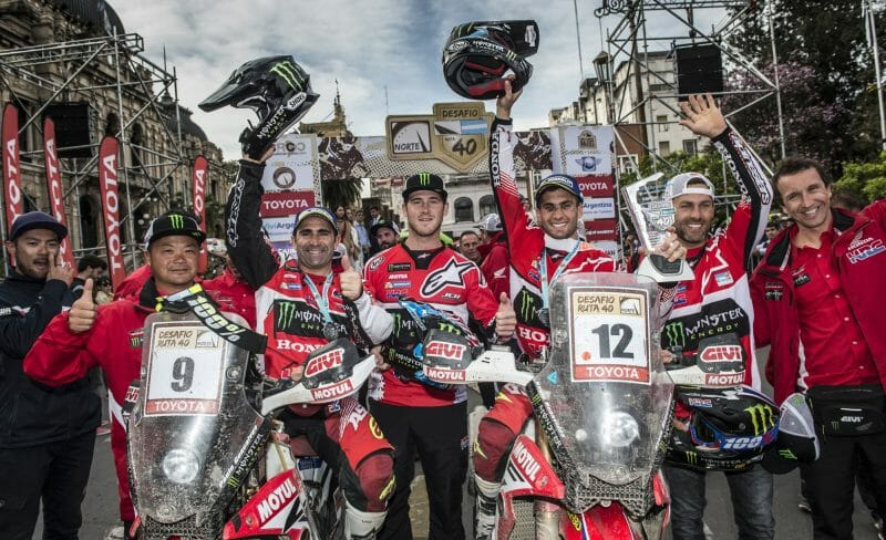 Cross Country Rally - Honda Team Race Report