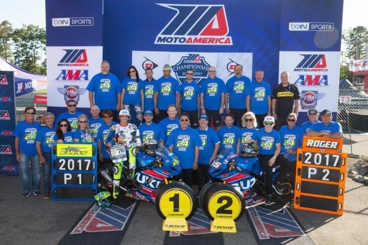Yoshimura Suzuki finished 1-2 in MotoAmerica Superbike this season with Toni Elias and Roger Hayden