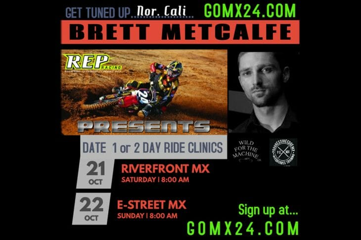Brett Metcalf Riding School flyer