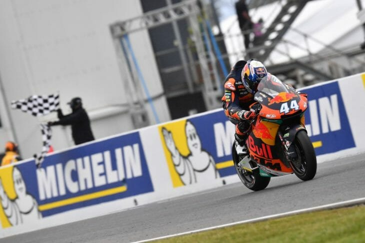 Miguel Oliveira (Red Bull KTM Ajo) was in a class of his own in the Australian GP, taking victory by three seconds