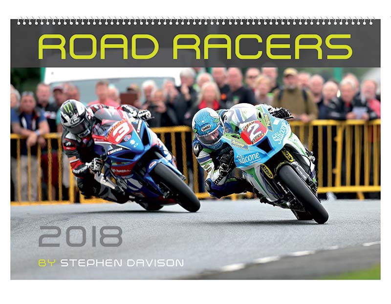 Road Racers 2018 Wall Calendar