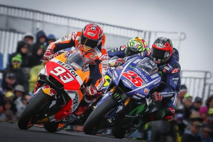 2017 Phillip Island MotoGP race.
