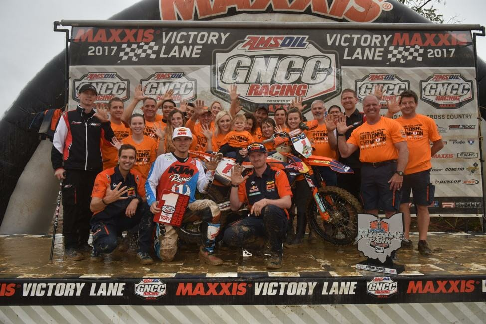 2017 Powerline GNCC Racing Results