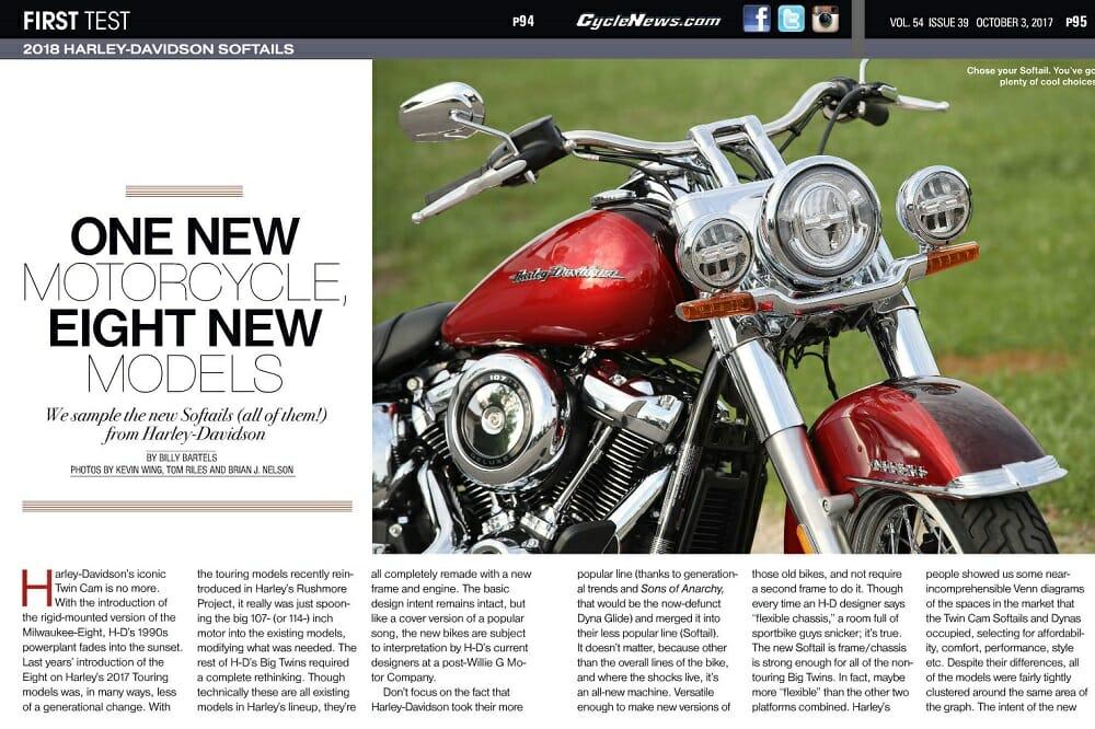 2018 Harley-Davidson Softails