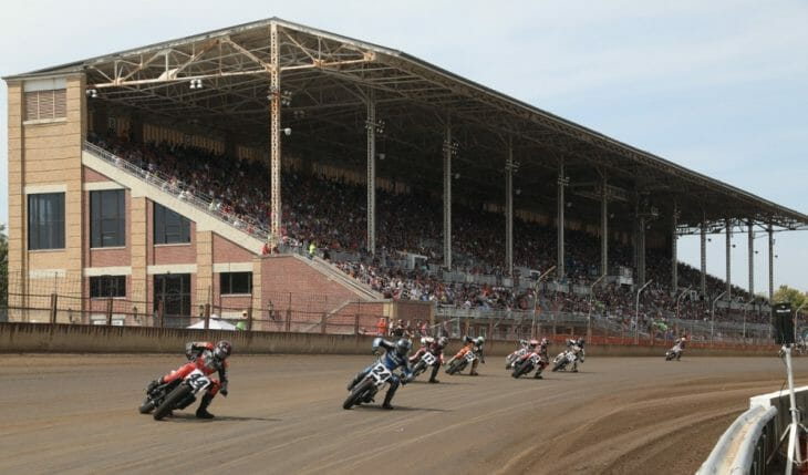 American Flat Track Springfield Mile 2018