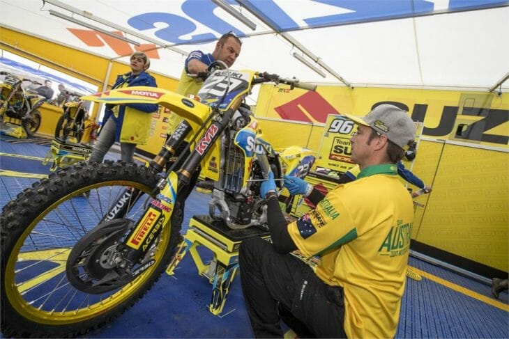 Suzuki Pulls Out Of MXGP Racing