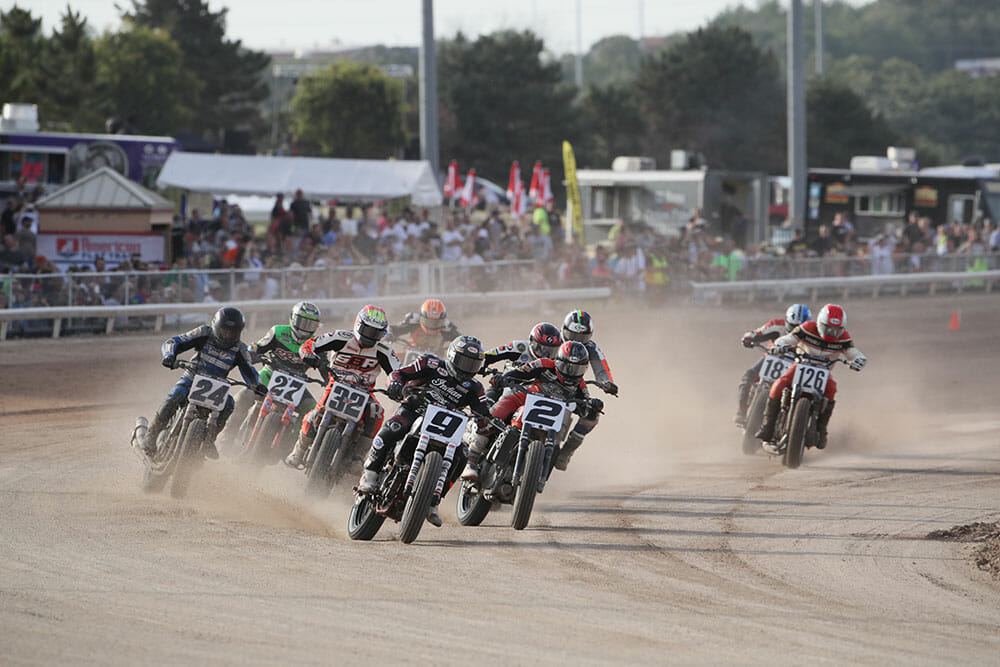 American Flat Track Announces 2018 Schedule - Cycle News