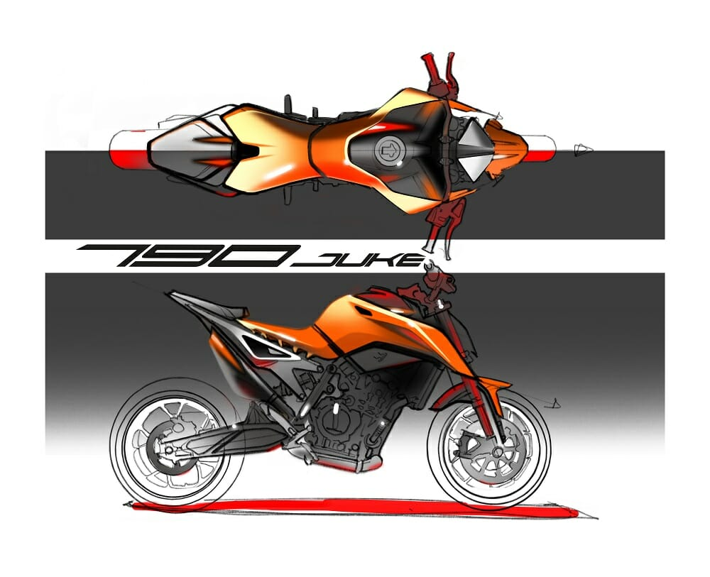 2018 ktm 790 duke prototype first ride cycle news. Black Bedroom Furniture Sets. Home Design Ideas