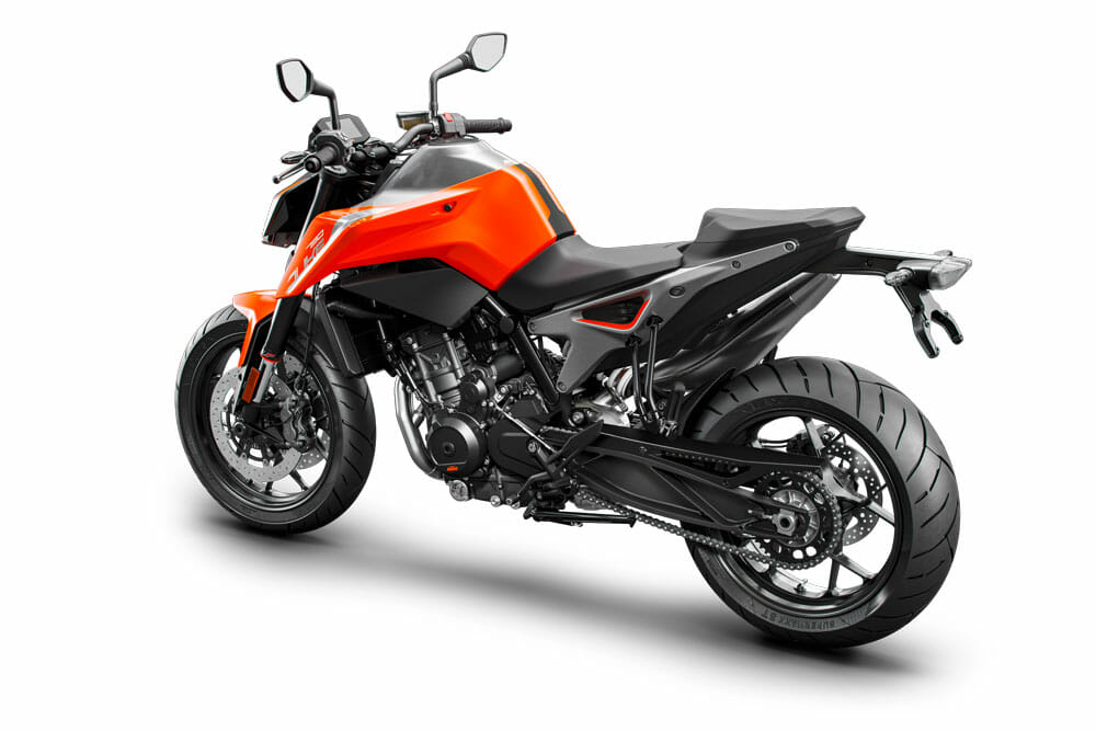 2018 KTM 790 Duke Prototype