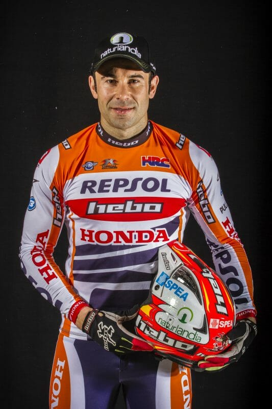 Repsol Honda's Toni Bou and X-Trial