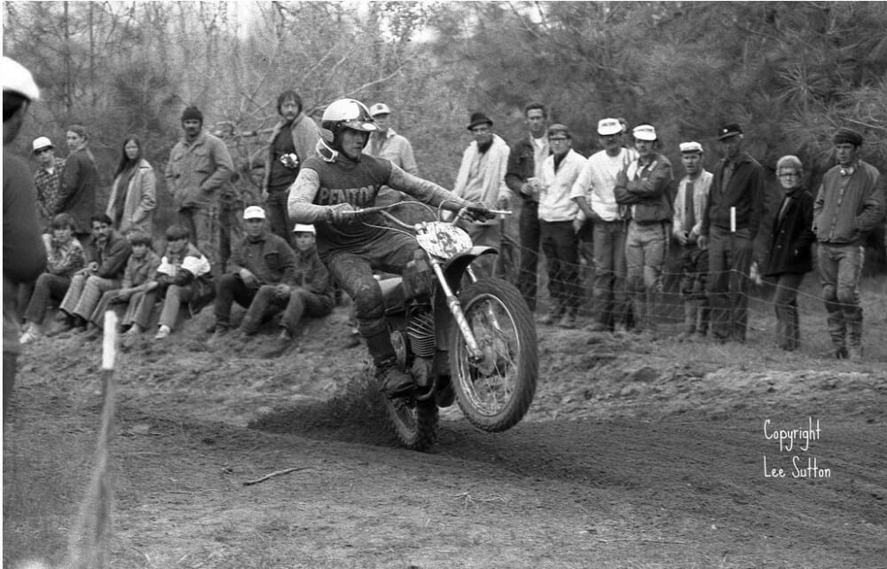 Carl Cranke in action