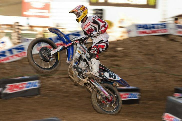 Yamaha Signs Justin Barcia