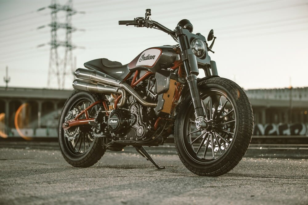 Indian Scout FTR1200 Custom First Look - Cycle News
