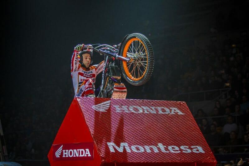 Repsol Honda's Toni Bou and X-Trial